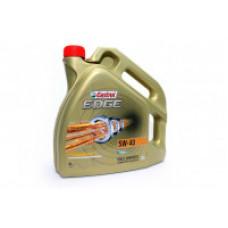 Моторное масло 5W40 4л EDGE Titanium FST Castrol