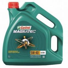 Моторное масло 5W40 4л Magnatec A3/B4 Castrol