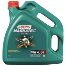 Моторное масло 10W40 4л Magnatec DUALOCK Diesel B4 Castrol