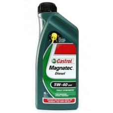 Моторное масло 5W40 1л Magnatec Diesel DPF Castrol