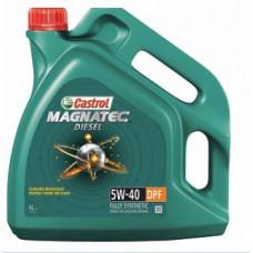 Моторное масло 5W40 4л Magnatec Diesel DPF Castrol