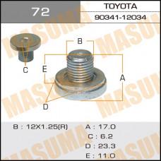 Болт маслосливной 72 A/T Toyota MASUMA