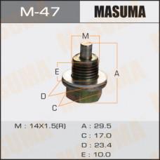 Болт маслосливной M-47 С МАГНИТОМ  Isuzu   14х1.5mm   UBS, UCS,  UES, UER M-47 MASUMA