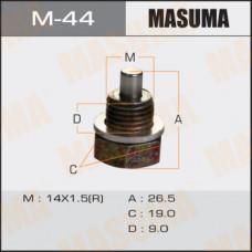Болт маслосливной M-44 С МАГНИТОМ  Mazda  14x1.5 mm M-44 MASUMA
