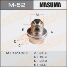 Болт маслосливной M-52 С МАГНИТОМ Mitsubishi M-52 MASUMA