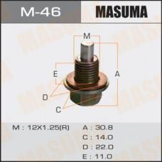 Болт маслосливной M-46 С МАГНИТОМ Nissan12х1.25mm VG33,VQ35,QG18, SR16,YD22,QR20,25,KA24 M-46 MASUMA