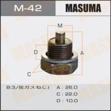Болт маслосливной M-42 С МАГНИТОМ  Nissan  3/8 M-42 MASUMA
