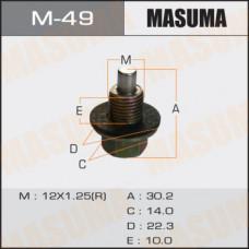 Болт маслосливной M-49 С МАГНИТОМ  Toyota  12х1.25mm   1ZZ,1NZ,2NZ,2AZ,1MZ,3S,1HD M-49 MASUMA