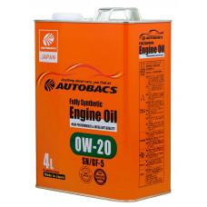 Моторное масло AUTOBACS 0W-20 SN/GF-5 4л