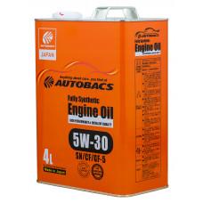 Моторное масло AUTOBACS 5W-30 SN/GF-5 4л