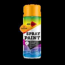 Краска-спрей желтая 450 мл (аэрозоль). SP-Y25