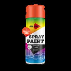 Краска-спрей оранжево-красная 450 мл (аэрозоль). SP-OR14