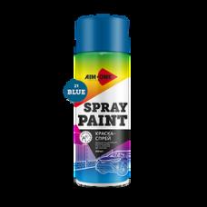 Краска-спрей синяя 450 мл (аэрозоль). SP-B21 AIM-ONE