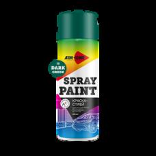 Краска-спрей темно-зеленая 450 мл (аэрозоль). SP-DGR13