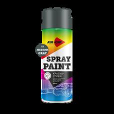 Краска-спрей умеренно-серая 450 мл (аэрозоль) SP-MG22