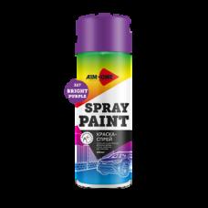 Краска-спрей ярко-фиолетовая 450 мл (аэрозоль) SP-BP327