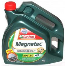 Моторное масло 5W30 4л Magnatec A5 DUALOCK Castrol