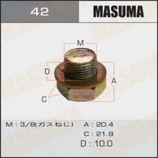 Болт маслосливной 42 Nissan 3/8 MASUMA