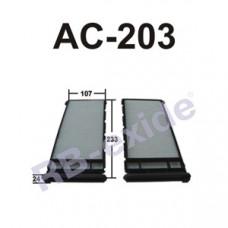 Cалонный фильтр AC-203 RB