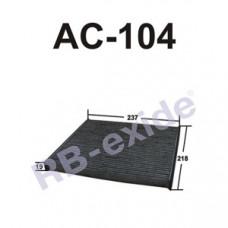 Cалонный фильтр AC-104C RB