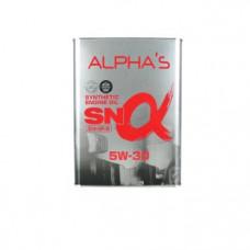 Моторное масло 5W30 4л SN/GF-5 синтетика Alpha s