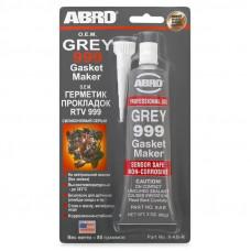 Герметик прокладка серый RTV-999, 85 гр ABRO 9-AB