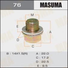 Болт маслосливной 76 A/T  Mitsubishi LANCER.CS5A MASUMA