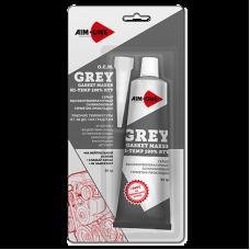 Герметик для прокладок серый 85гр GM-GY0085 AIM-ONE