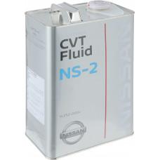 Масло трансмиссионное синтетическое NISSAN CVT NS-2 4л