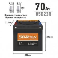 """АКБ """"STARTEX"""" 70 А/ч R ССА 590А 230*170*200 НЕобслуж. (1/80)"""