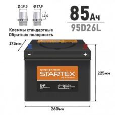 "АКБ ""STARTEX"" 85 А/ч L (обр.) ССА 680А 260*170*200 НЕобслуж."