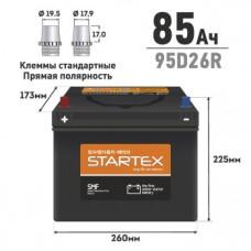 """АКБ """"STARTEX"""" 85 А/ч R ССА 680А 260*170*200 НЕобслуж."""