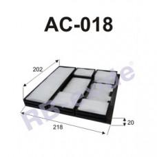 Cалонный фильтр AC-018 RB