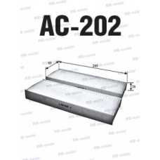 Cалонный фильтр AC-202 RB