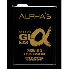 Масло трансмиссионное Alpha 75W-90 GL-5 4л.